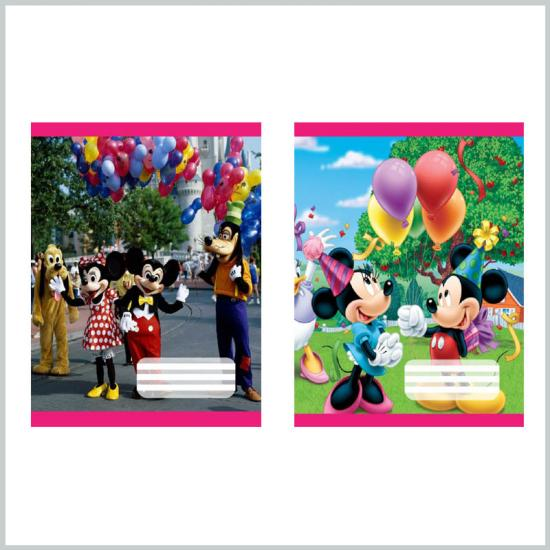 Mickey mouse cover student exercise books